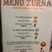 Photo taken at Zurna Kebab by Alex R. on 3/22/2012