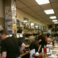 Photo taken at The Original Gab & Eat Restaurant by Chuck R. on 3/25/2012