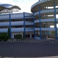 Photo taken at Stadion Maguwoharjo by Septyana U. on 7/23/2012