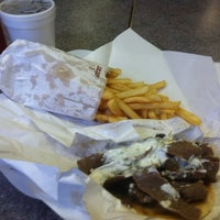 Photo taken at Mr. Greek Gyros by Jeffery M. on 5/9/2012
