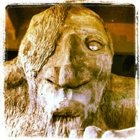 Photo taken at The Fremont Troll by Doug F. on 6/15/2012