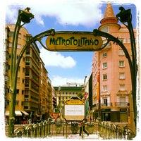 Photo taken at Metro Picoas [AM] by Vitor R. on 6/15/2012