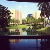 Photo taken at FIU - Management & Advanced Research Center (MARC) by Andreina E. on 5/14/2012