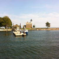 Photo taken at Sheffield Island Lighthouse by Mark K. on 8/22/2012
