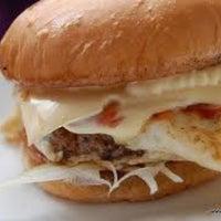 Photo taken at Buyin' Burger by Aiman D. on 2/4/2012