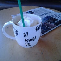 Photo taken at Starbucks by Kat G. on 6/9/2012