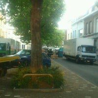 Photo taken at Markt van Berchem by Bjorn D. on 6/23/2012