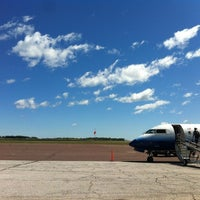 Photo taken at Houghton County Memorial Airport (CMX) by Jase on 8/5/2012