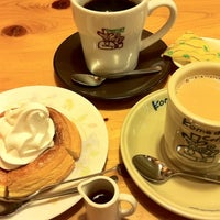 Photo taken at Komeda's Coffee by MICHAEL F. on 3/11/2012