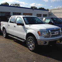 Photo taken at All American Ford of Paramus by Chris S. on 8/26/2012