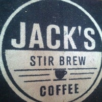Photo taken at Jack's Stir Brew Coffee by Fred W. on 8/23/2012