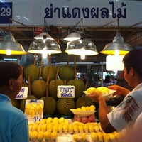 Photo taken at Or Tor Kor Market by amme c. on 4/22/2012