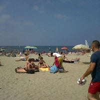 Photo taken at Spiaggia Libera by Andrea M. on 6/3/2012
