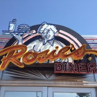 Photo taken at Rosie's Diner by Erica K. on 6/18/2012