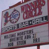 "Photo taken at Winners Circle Sports Bar by ""Diner Dave"" B. on 8/11/2012"