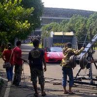 Photo taken at Gelora BK Dog Run by iko w. on 6/7/2012