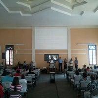 Photo taken at Iglesia Bautista Central by Pedro B. on 2/12/2012