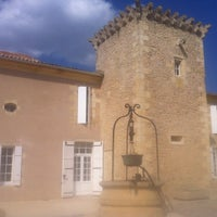 Photo taken at Chateau Coutet by L'actu d. on 4/2/2012