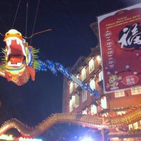 Photo taken at Jonker Walk / Street by Fong Kar Guan on 8/24/2012