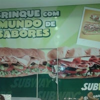 Photo taken at Subway by Camila F. on 8/24/2012