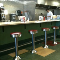 Photo taken at Real Food Cafe by Kathleen V. on 7/18/2012