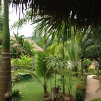 Photo taken at Thongbay Guesthouse by Kenneth on 8/6/2012