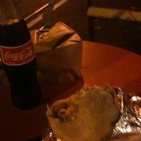 Photo taken at Honest Tom's Taco Shop by Sai I. on 9/6/2012