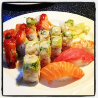 Photo taken at Samurai Sushi by David C. on 8/25/2012