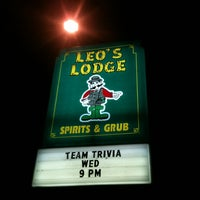 Photo taken at Leo's Lodge by Terry S. on 6/28/2012