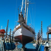 Photo taken at svendson boat yard by Joelle A. on 8/27/2012