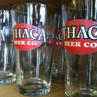 Photo taken at Ithaca Beer Co. Taproom by Jess M. on 6/2/2012
