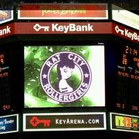 Photo taken at KeyArena by MJ K. on 2/19/2012
