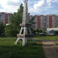 Photo taken at Эйфелева башня by Ирина В. on 5/20/2012