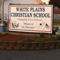 Photo taken at White Plains Christian School by Amanda T. on 3/14/2012