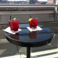 Photo taken at Plunge Rooftop Bar & Lounge by Jahayra_NYC on 5/19/2012