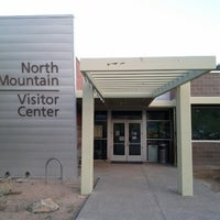 Photo taken at North Mountain Visitors Center by Brian A. on 9/3/2012