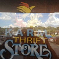Photo taken at KARM Thrift Store by Spiffy H. on 7/16/2012