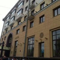 Photo taken at Гостиница «Минск» / Minsk Hotel by Barış D. on 9/5/2012