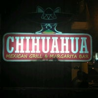 Photo taken at Chihuahua Mexican Grill & Margarita Bar by Alexis J. on 4/7/2012