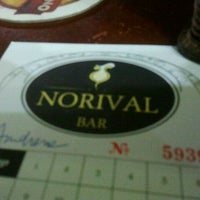 Photo taken at Norival Bar by Andrezza Drê C. on 3/4/2012