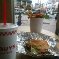 Photo taken at Five Guys by Shan T. on 8/1/2012