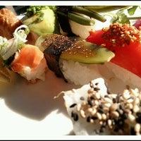Photo taken at Akki Sushi by linda on 3/23/2012