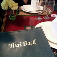 Photo taken at Thai Basil Restaurant by Clara S. on 3/17/2012