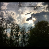 Photo taken at Washington Boro, PA by Dan R. on 4/21/2012