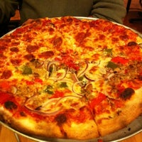Photo taken at Pete's New Haven Style Pizza by NaturallyMe on 4/7/2012