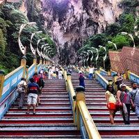 Photo taken at Sri Subramaniar Temple Batu Caves by Marc N. on 8/10/2012
