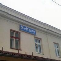 Photo taken at Železniční stanice Svitavy by Éva P. on 8/11/2012