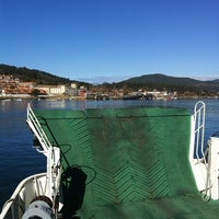 Photo taken at Ferry A Guarda by Pedro A. on 2/19/2012