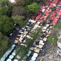 Photo taken at Feira de Artes e Artesanato de Belo Horizonte (Feira Hippie) by Rosangela M. on 8/26/2012