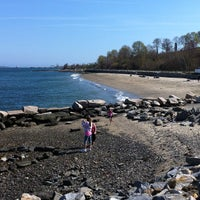 Photo taken at East End Beach by Georgy C. on 4/21/2012
